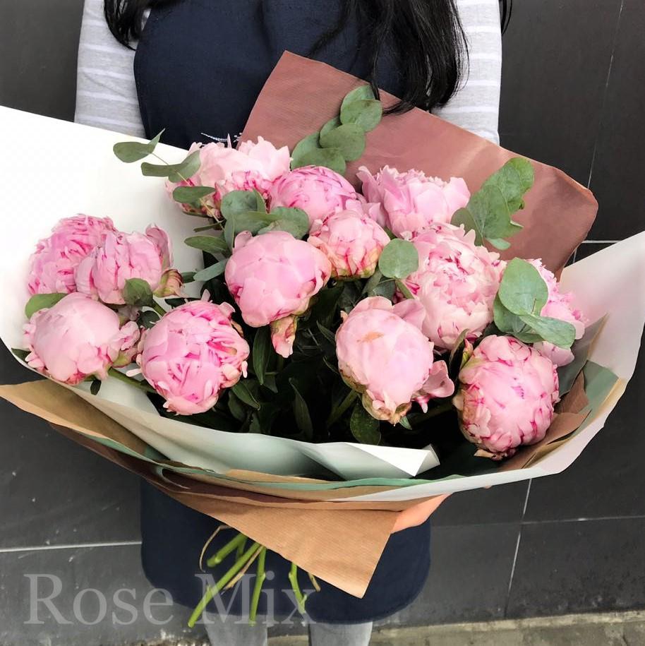 Букеты из пионов в екатеринбурге, доставка цветов на дом в городе канаше